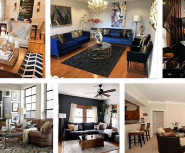 Black and Brown Living Room Decor