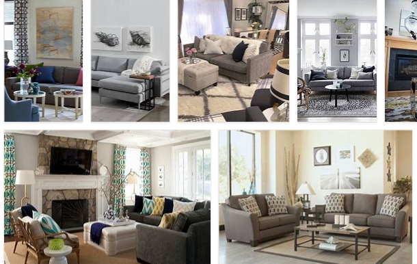 Gray Sofa Living Room Decor