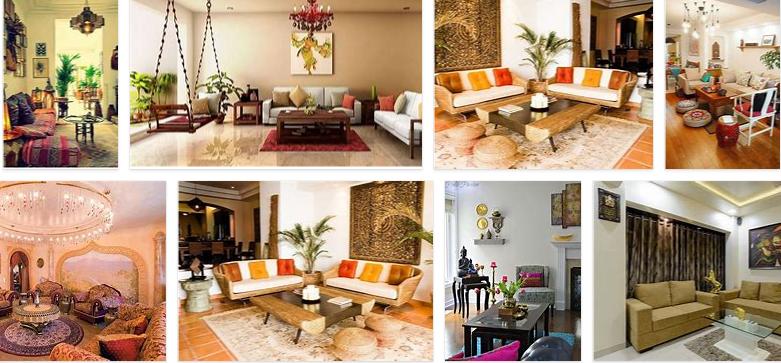 Indian Living Room Decor