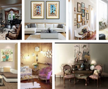Vintage Wall Decor for Living Room